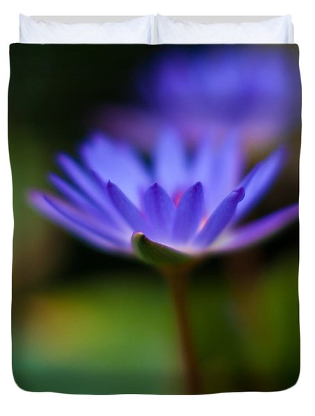 Lily Glow Duvet Cover by Mike Reid