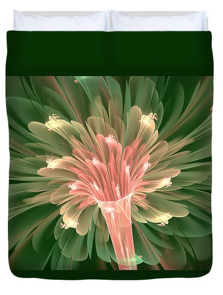 Lily In Bloom Duvet Cover