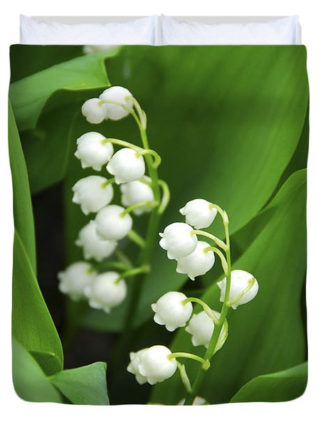 Lily-of-the-valley  Duvet Cover