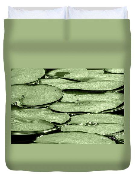 Lilypads Duvet Cover