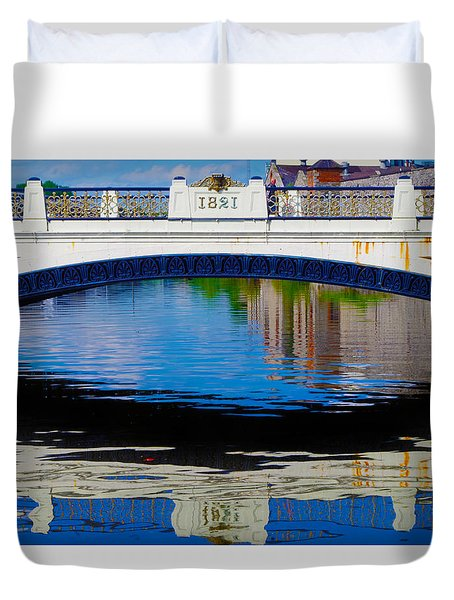 Sean Heuston Dublin Bridge Duvet Cover