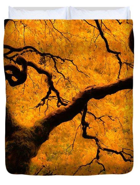 Limned In Light Duvet Cover