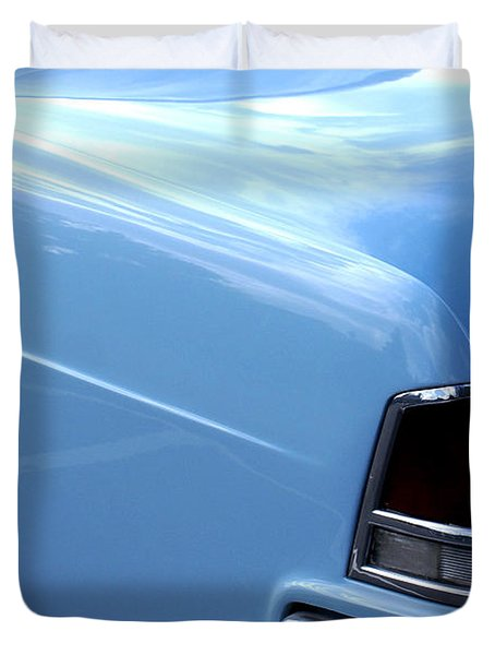 Lincoln Continental  Duvet Cover by Barbara Snyder