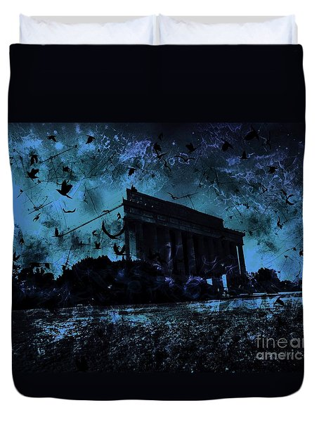 Lincoln Memorial Duvet Cover