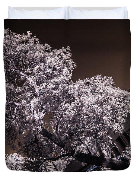 Lincoln Road Tree Duvet Cover