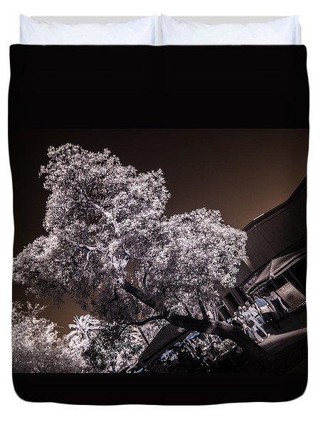 Lincoln Road Tree Duvet Cover