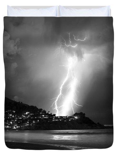 Linda Mar Lightning Duvet Cover