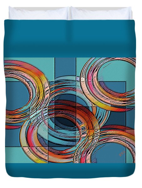 Links Duvet Cover by Ben and Raisa Gertsberg