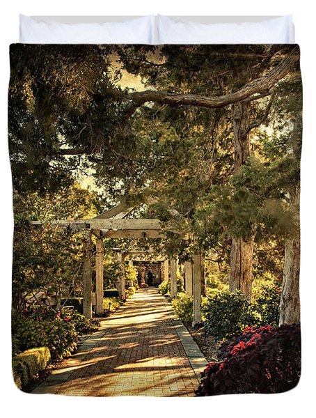Linnaeus Teaching Garden Duvet Cover by Tamyra Ayles