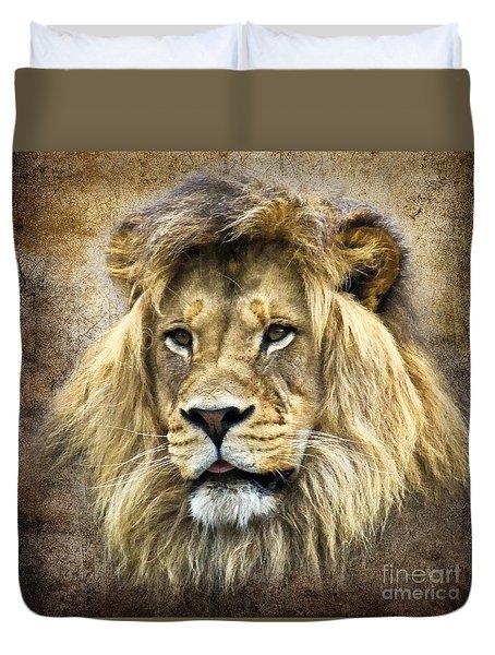 Lion King Duvet Cover by Steve McKinzie