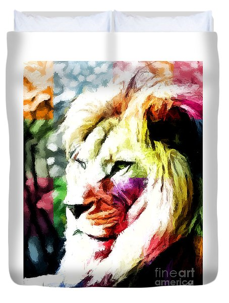 Lion - Leone Duvet Cover
