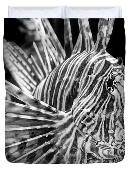 Lionfish Duvet Cover by Jamie Pham