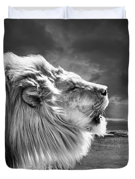 Lions Breath Duvet Cover