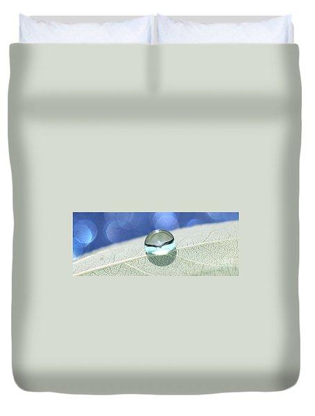 Liquid Drop Duvet Cover