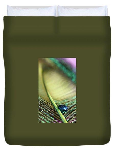 Liquid Reflections Duvet Cover