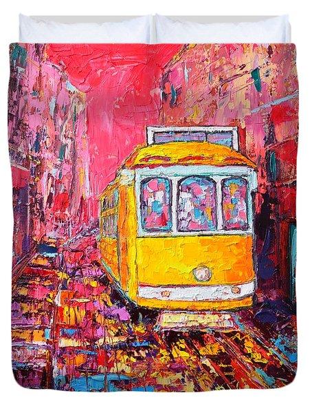 Lisbon Impression Duvet Cover by Ana Maria Edulescu