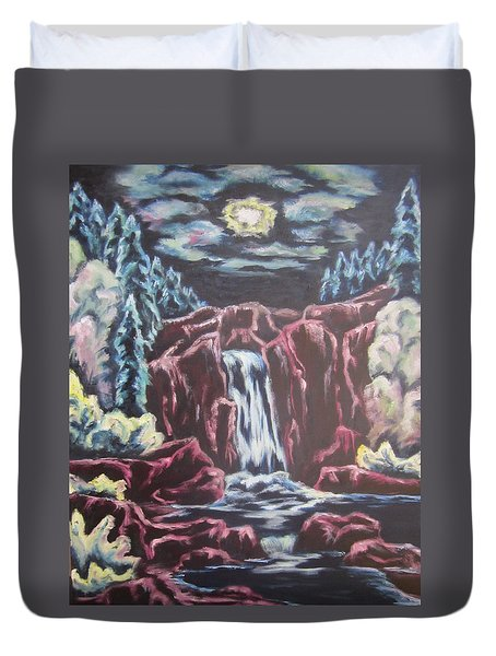 Listening To The Land Speak Duvet Cover