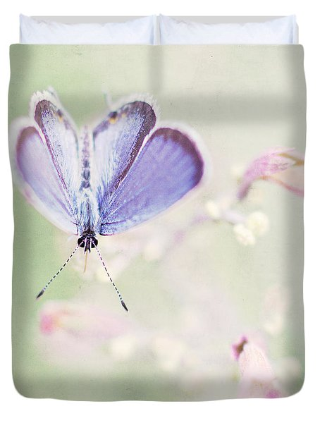 Little Blue Duvet Cover