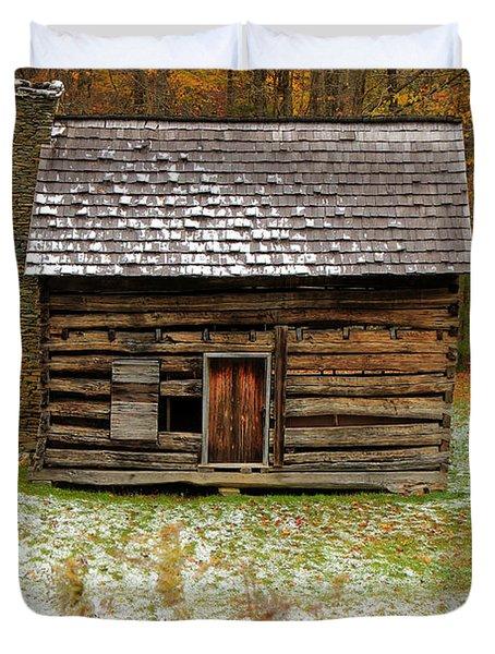 Little Cabin Duvet Cover