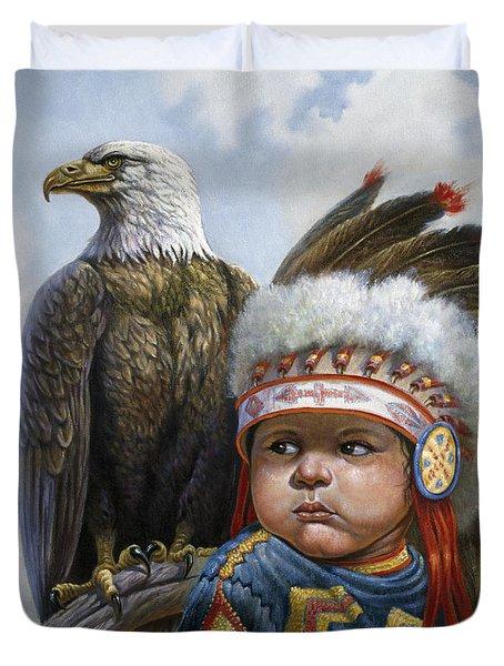 Little Chief Duvet Cover