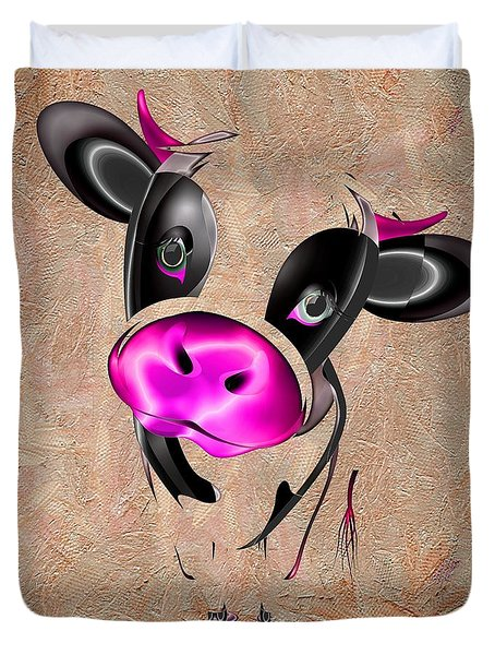 Little Cow Duvet Cover by Liane Wright