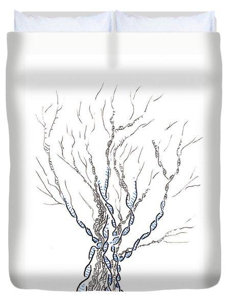 Little Dna Tree Duvet Cover