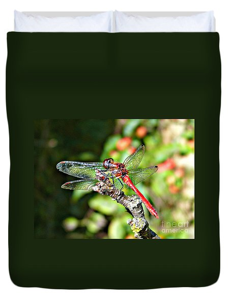 Little Dragonfly Duvet Cover