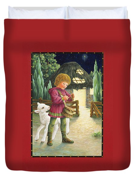 Little Drummer Boy Duvet Cover