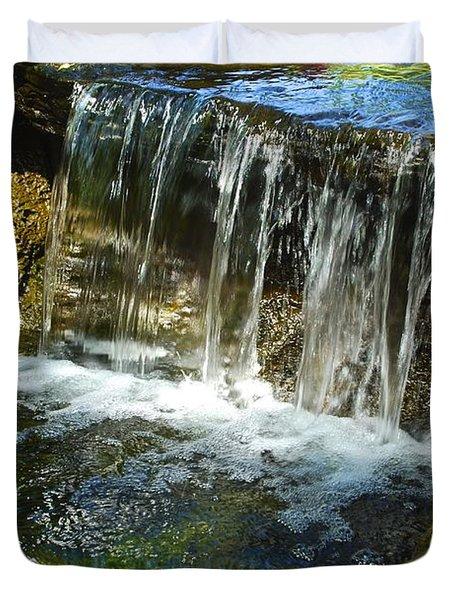 Little Falls 3 Duvet Cover by Charlie Brock