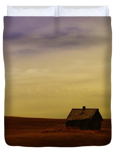 Little House On The Prairie  Duvet Cover by Jeff Swan