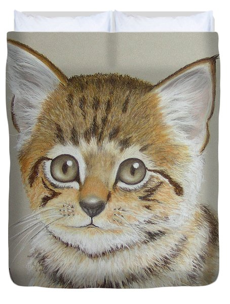 Little Kitty Duvet Cover