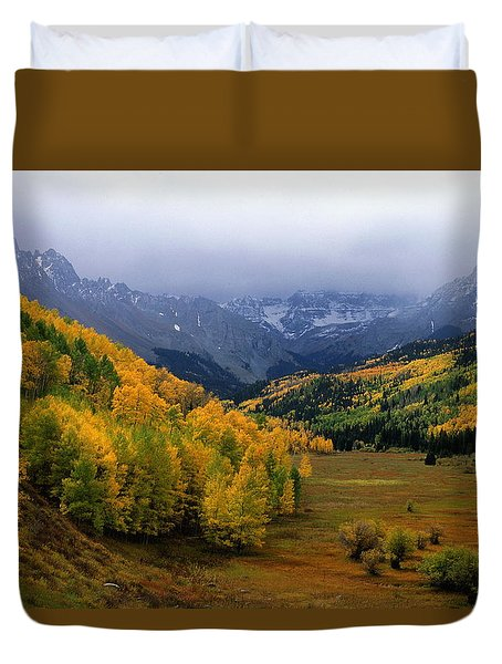 Little Meadow Of The Sublime Duvet Cover