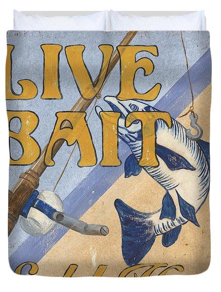 Live Bait Duvet Cover