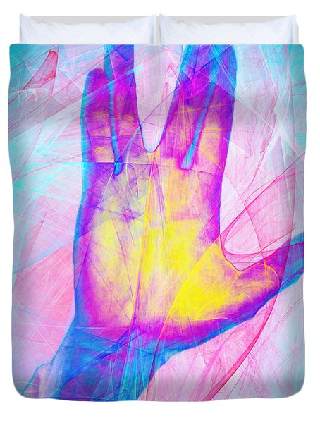Live Long And Prosper 20150302v1 Duvet Cover