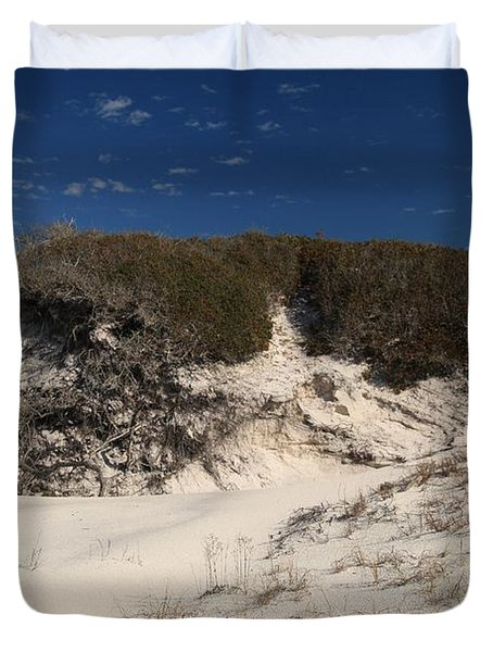Lively Dunes Duvet Cover by Adam Jewell
