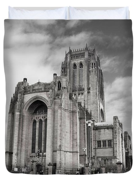 Liverpool Anglican Cathedral Duvet Cover