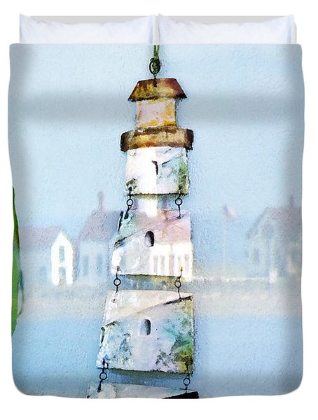 Living By The Sea - Pacific Ocean Duvet Cover