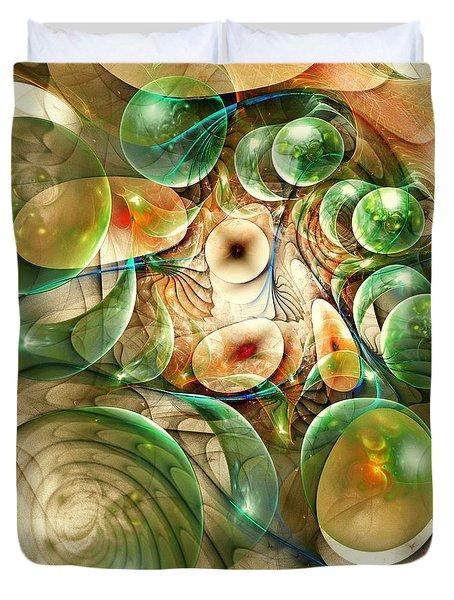 Living Organisms Duvet Cover by Anastasiya Malakhova