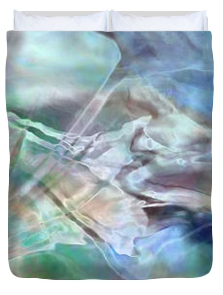 Living Waters - Abstract Art Duvet Cover