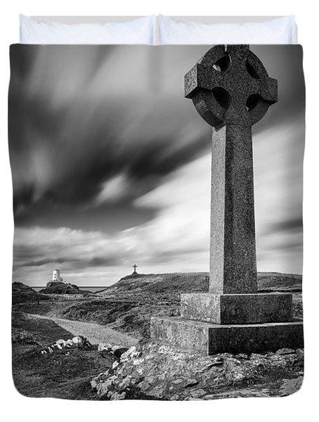 Llanddwyn Island Duvet Cover by Dave Bowman