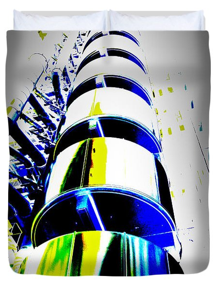 Lloyd's Building London Art Duvet Cover
