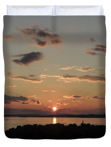 Going Home Duvet Cover by Patrick Fennell