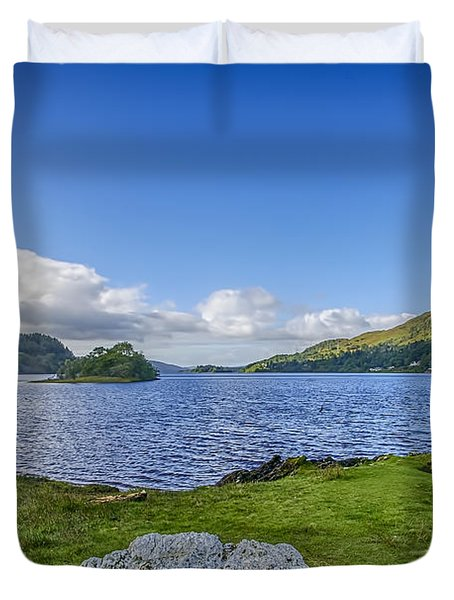 Loch Awe View Duvet Cover