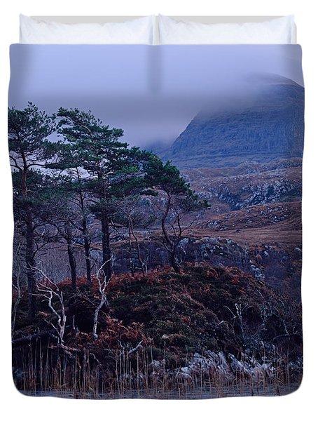 Loch Druim Suardalain Duvet Cover