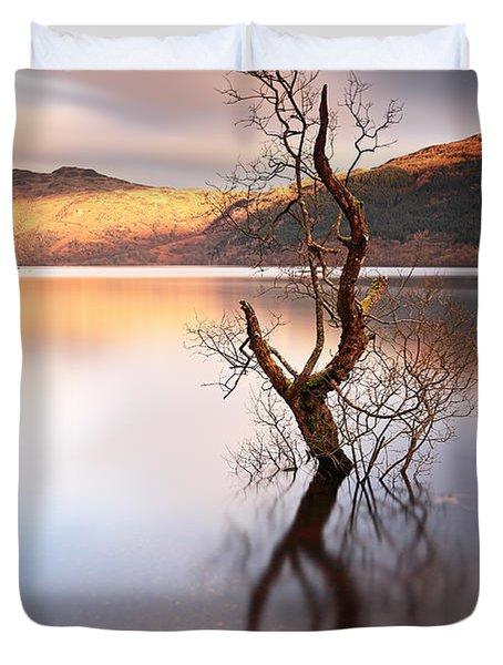 Loch Lomond Tree Duvet Cover