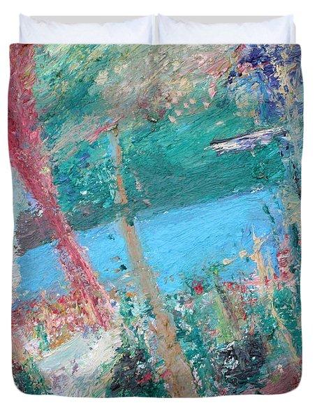 Loch Ness Duvet Cover