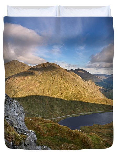 Loch Restil And The Rest And Be Thankful Duvet Cover