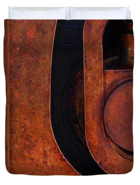Lock Down Duvet Cover by Skip Hunt