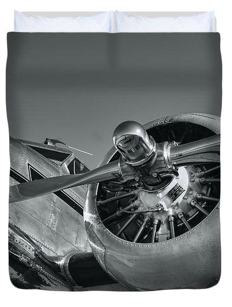 Lockheed 12a Electra Junior  Duvet Cover