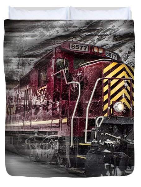 Locomotion Duvet Cover